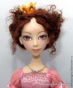 Просто Принцесса - моя новая авторская кукла / Изготовление авторских кукол своими руками, ООАК / Бэйбики. Куклы фото. Одежда для кукол
