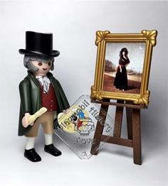Pintores y Músicos ☆ Painters and Musicians – PlayHistoryMove Playmobil Sets, Lego People, Famous Artwork, Legoland, Legos, Drawing, Art History, Geek Stuff, Miniatures