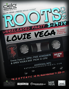 ROOTSNYC each and EVERY Wed NIGHT at CIELO CLUB!