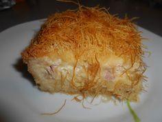 Ζaχαρη και Αλaτι: Κανταίφι με διάφορα τυριά Pork, Food And Drink, Cooking Recipes, Sweets, Chicken, Meat, Blog, Easter, Places