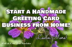 How to start a greeting card business from home business m4hsunfo