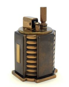 Ronson Touch-Tip Turret Table Lighter