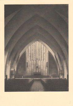 Weber, Martin - St. Bonifatius Kirche, Choransicht, Frankfurt am Main (St. Bonifatius Church, Chancel, Frankfurt am Main), 1927