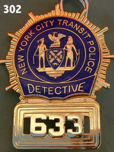 pictures of new york police department badges - Google Search