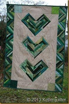 Genäht und gequiltet aus einer Wundertüte von QF allgäumädel.