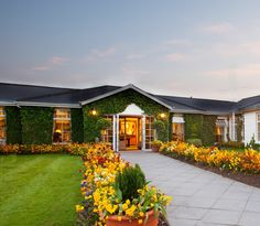 Front entrance to The Keadeen Hotel, Kildare, Ireland www.keadeenhotel.ie
