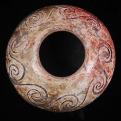 design older than I am: Anasazi Raku pot