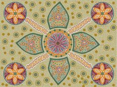 Aboriginal Fabric - see our collection of Aboriginal fabrics at www.CaryQuilting.com