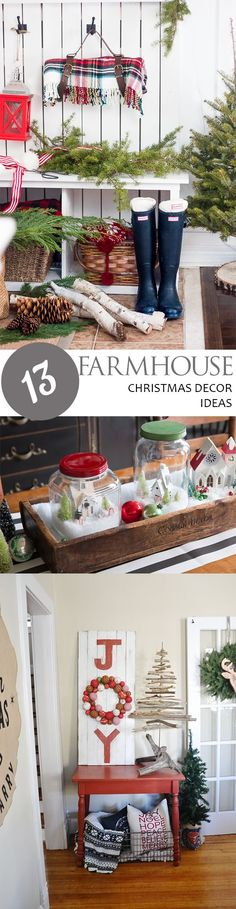 13 Farmhouse Christmas Decor Ideas - Page 15 of 15 - Pickled Barrel