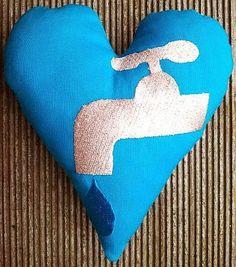 Hier mein 72. Herz für Dich: Steter Topfen höhlt den Stein