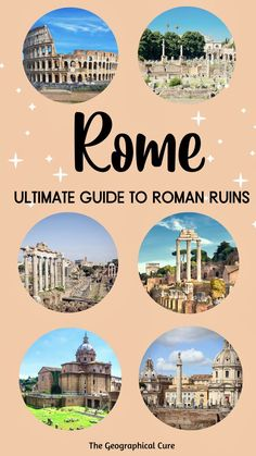Rome Travel, Italy Travel, Best Of Rome, Museum Guide, Rome Attractions, Palatine Hill, Roman Forum, Ancient Ruins, Archaeological Site