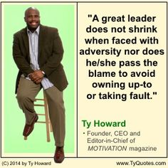 Leadership Quotes. quotes about leaders. quotes on leadership. motivational quotes. inspirational quotes. great leaders quotes. quotes on personal development. quotes on professional development. employee morale. fitness. health. hr. human resources. management. ceo. entrepreneurship. executives. coaching. business owners. empowerment quotes. wisdom. Motivation Magazine. Ty Howard. ( MOTIVATIONmagazine.com ) Leadership Development, Leadership Quotes, Workplace Quotes, Coaching, Prayer Verses, Great Leaders, Magazine, Motivational Quotes, Morale