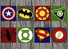 logos superheroes de marvel - Buscar con Google