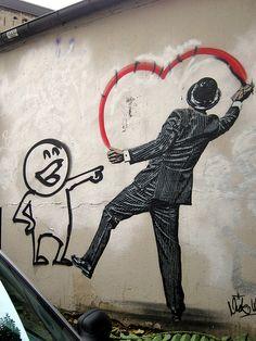 Paris street art, Rue Amelot