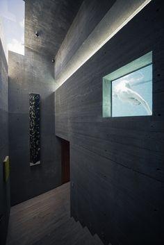Image 45 of 66 from gallery of Atalaya House / Alberto Kalach. Photograph by Yoshihiro Koitani Casas California, California Homes, Piscina Interior, Entry Hall, Beautiful Buildings, Interior Architecture, Interior Design, Yoshi, Swimming Pools