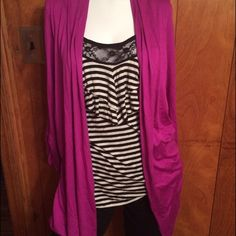 Very nice too. With attached cardigan In perfect condition open to offers. Sweaters Cardigans