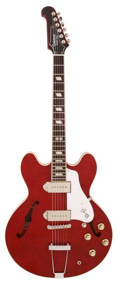 "Epiphone Ltd Edition Elitist ""Dwight Trash"" Casino Roulette Red   Rainbow Guitars"