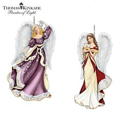 Thomas Kinkade Heaven Sent Ornament Collection
