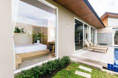 villa with private pool Layan beach