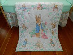 """Beatrix Potter nursery set"" - nicer use of white & colour"