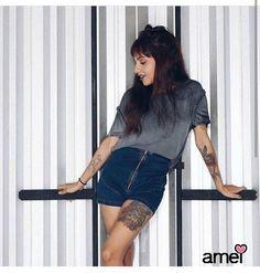 Shorts cintura altaLINDOOooo❤️ #lojaamei #muitoamor #novidades #jeans #shorts #hotpant