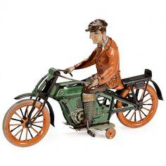 Large Krauss Motorcycle, c. 1915
