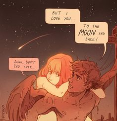 To the Moon and back by Picolo-kun.deviantart.com on @DeviantArt