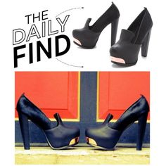 """""""The Daily Find: Messeca Sasha Haircalf Pumps"""" by polyvore-editorial on Polyvore"""
