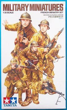 Tamiya French Infantry Set/ Czy da się z nich zrobić WP we Francji 1940? ;)