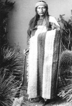 Naiche - Chiricahua Apache - 1884➳ʈɦuɲɖҽɽwσℓʄ➳