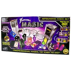 Astounding Magic Set (with DVD) by Fantasma Penn And Teller, Magic Sets, Street Magic, Magic Tricks, The Magicians, Make It Yourself, Mysterious, Awesome, Amazing