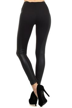 Sparta Cruiser Faux Leather Leggings