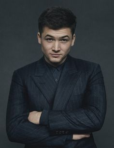 Mr Taron Egerton | The Look | The Journal | Issue 199 | 13 January 2015 | MR PORTER
