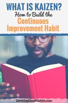 what is kaizen training - building the continuous improvement habit