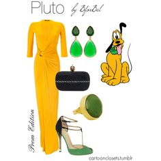 """Pluto- Prom Edition"" by bforbel on Polyvore"