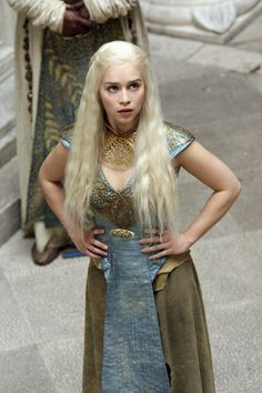 Emilia Clarke as Daenerys Targaryen (Game of Thrones)