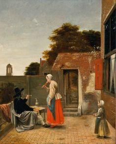 Pieter de Hooch, ca 1658-1660