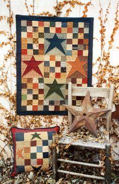 Country Threads :: Stars Quilt Patterns :: Constellation Quilt Pattern