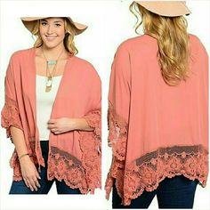 Selling this Crochet cardigan Plus Size 1X in my Poshmark closet! My username is: jilld731. #shopmycloset #poshmark #fashion #shopping #style #forsale #Jill Marie Boutique #Tops
