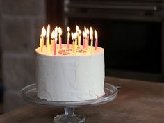 Triple Layered Confetti Cake recipe from Ree Drummond via Food Network