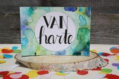 Handlettering inspiratie #4 - Verjaardagskaarten #happy birthday card #verjaardagskaart #handlettering card Handlettering Happy Birthday, Try Something New, Watercolor Cards, Happy Birthday Cards, Diy Cards, Doodle Art, Doodles, Blog, Drawings
