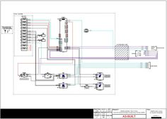 AV System Schematic - Multifunction Space | Portfolio - Audio Visual ...