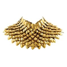 Necklace by Aristocrazy // Gold Scales