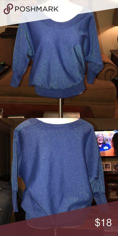 Navy Blue Sweater Worn once, great condition! Pink Rose Sweaters V ...