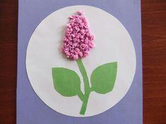 Flower craft and art idea for preschool Projects For Kids, Diy For Kids, Crafts For Kids, Easy Crafts, Diy And Crafts, Paper Crafts, Flower Crafts, Flower Art, Felt Flowers