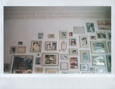 Frames & old walls.