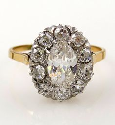 Reserved..1.56CT Victorian Antique Vintage Old by TreasurlybyDima