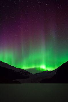 Mendenhall Aurora || by Kent Mearig