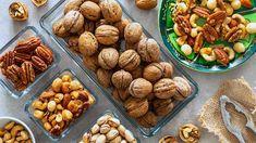 Ořechy by měly být pravidelnou součástí našeho jídleníčku Almond, Menu, Vegetables, Food, Pineapple, Menu Board Design, Essen, Almond Joy, Vegetable Recipes