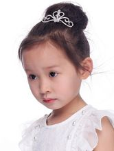 2015 Time-limited Clips For Hair Tiaras New Accessories Or Women Hinestone Crown Comb Clip Bridal Tiara Wholesale For Children(China (Mainland))